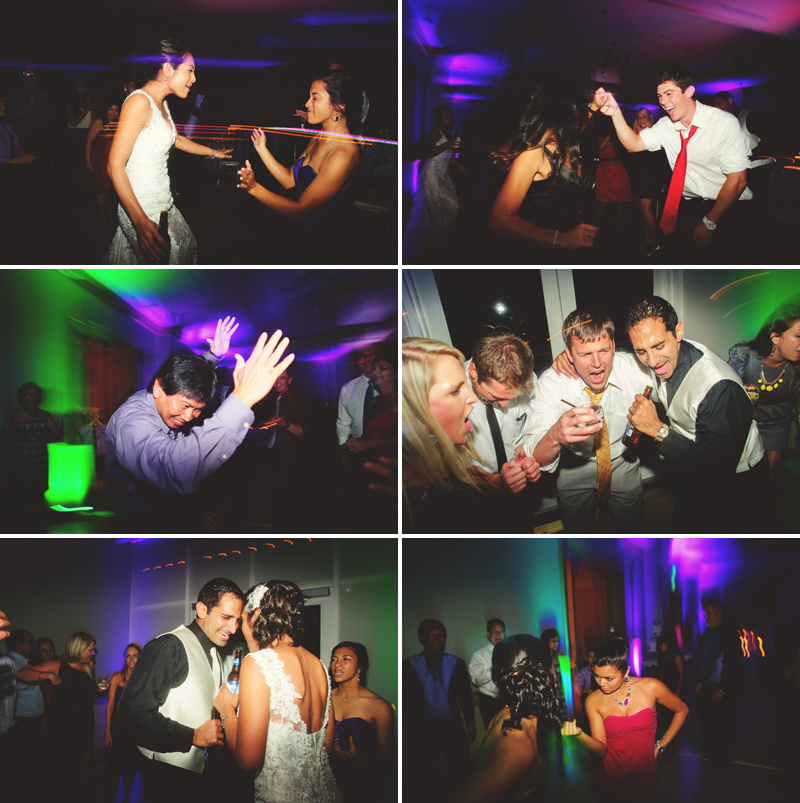 hyatt clearwater wedding: fun dancnig