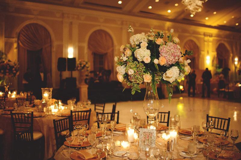 vinoy renaissance wedding: florals