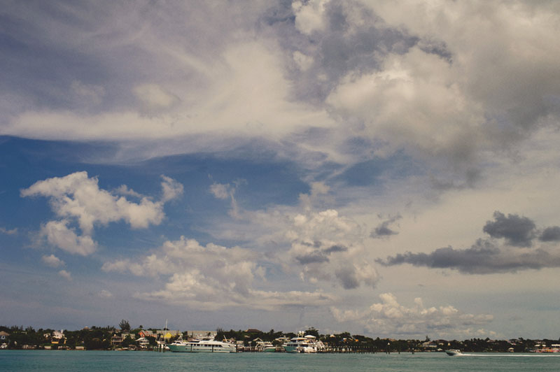 harbour island from boat