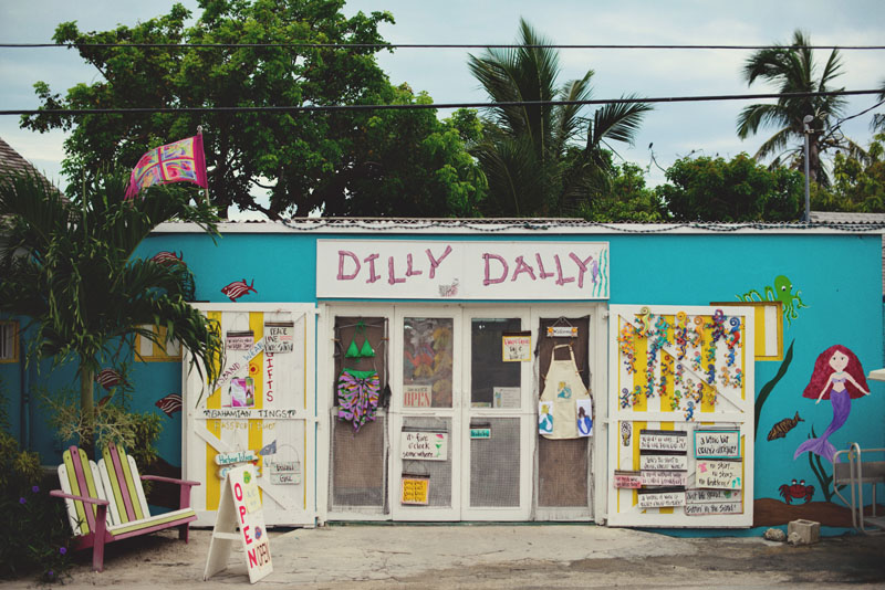 Harbour Island dilly dally