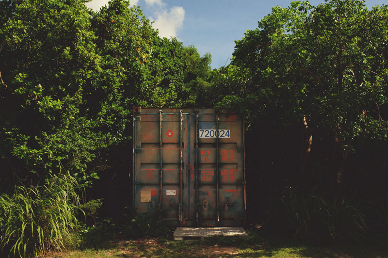 Harbour Island Wedding: crate