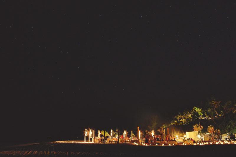 Harbour Island rehearsal dinner: night shot