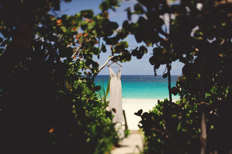 Harbour Island Wedding: wedding dress