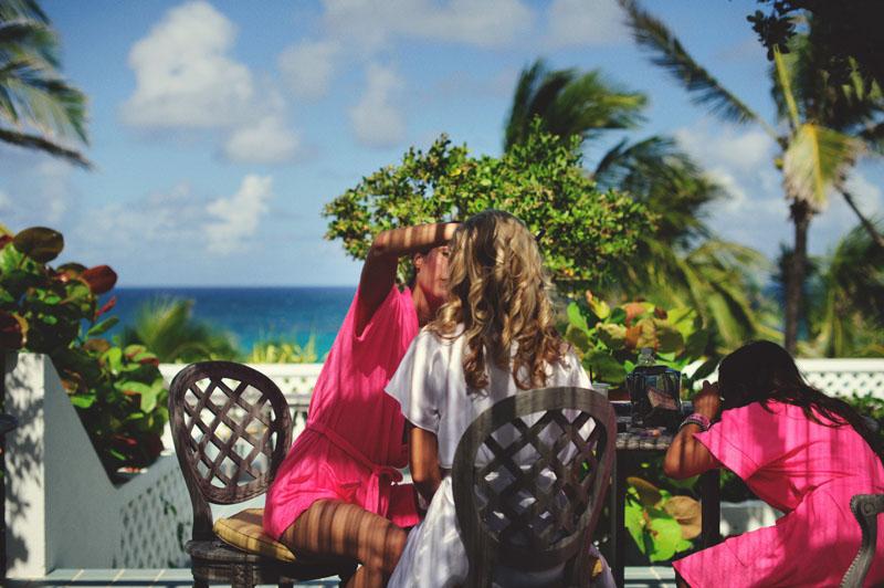 Harbour Island Wedding Makeup