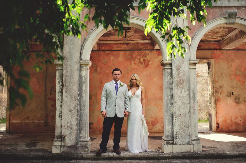 Harbour Island Wedding: bride and groom portraits