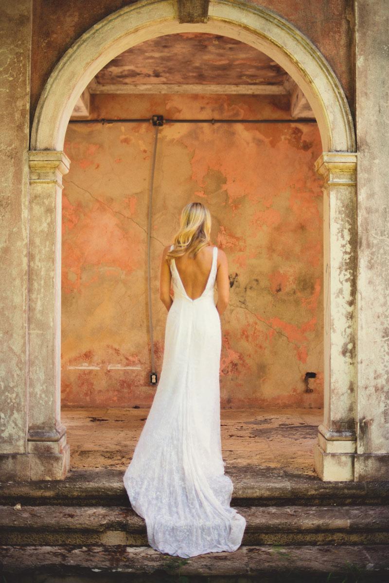 Harbour Island Wedding: bridal portraits