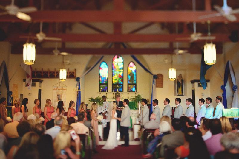 Harbour Island Wedding: St. John Church Wedding