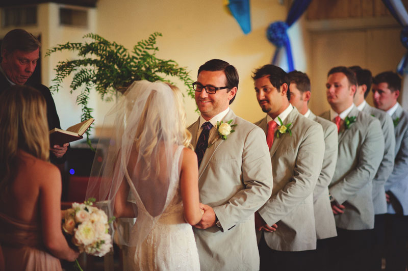 Harbour Island Wedding: laughing