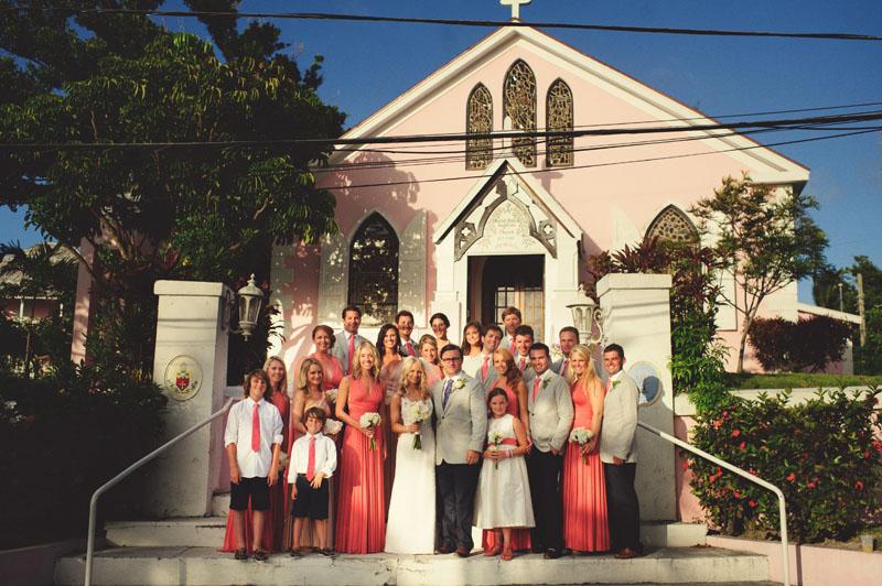 Harbour Island Wedding: bridal party portraits
