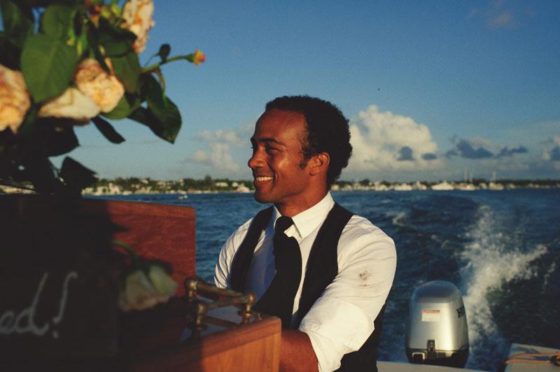 Harbour Island Wedding: Ben Simmons