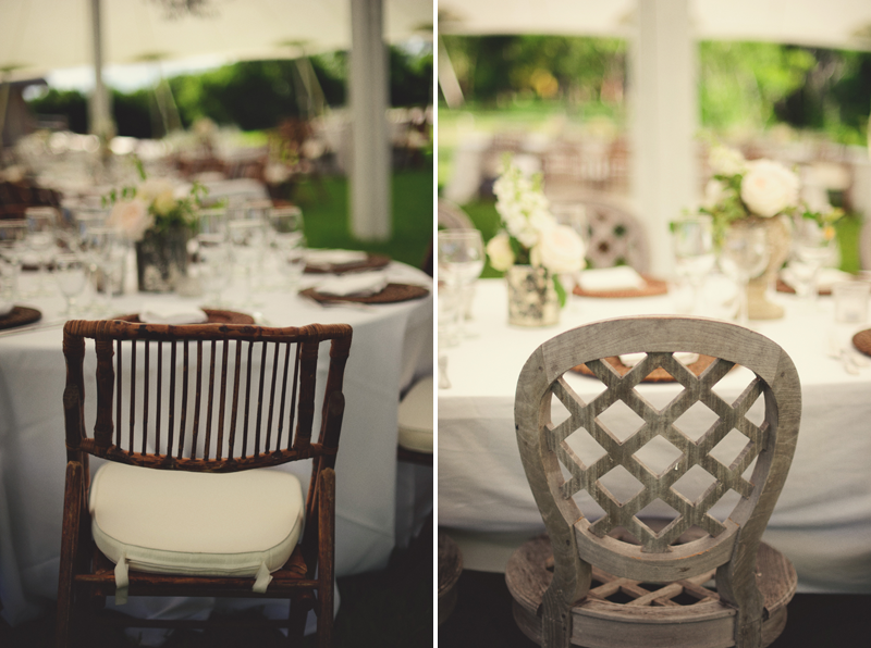 bamboo and wicker chairs