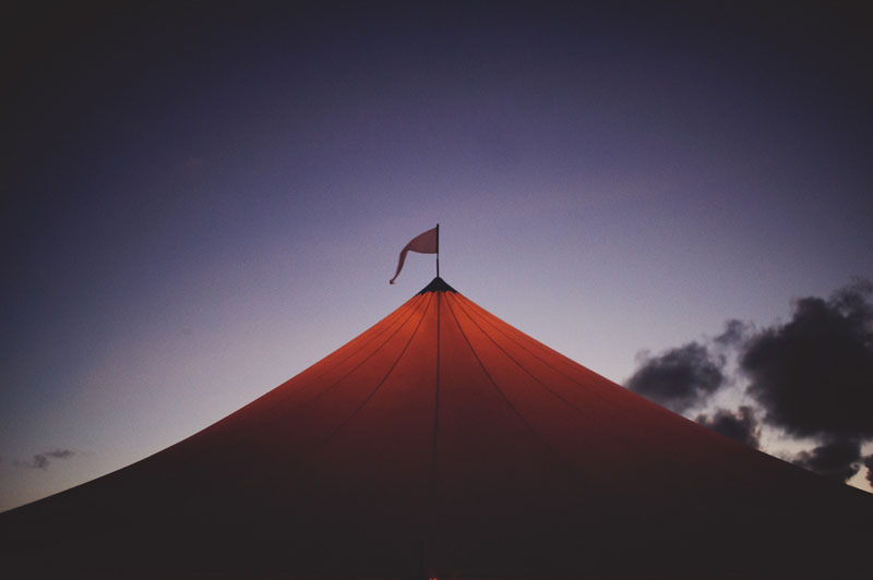 cool tent shot