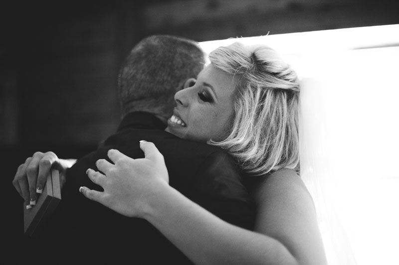 plant city farm wedding: hugs