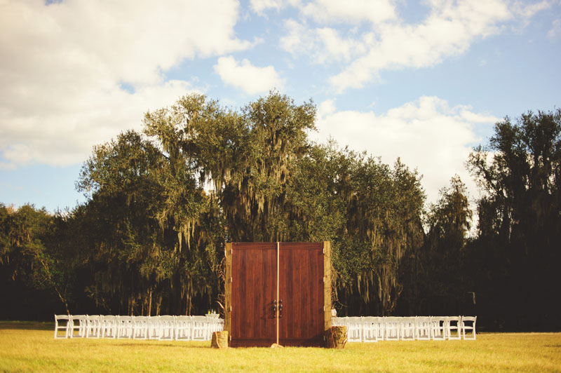 plant city farm wedding: detached chapel