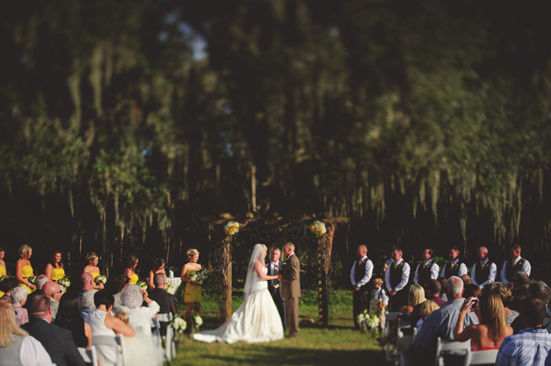 plant city farm wedding: