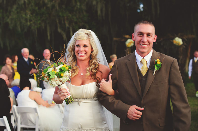 plant city farm wedding: precessional