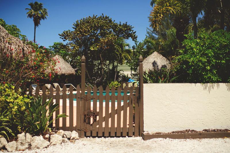 anna maria island wedding: pool