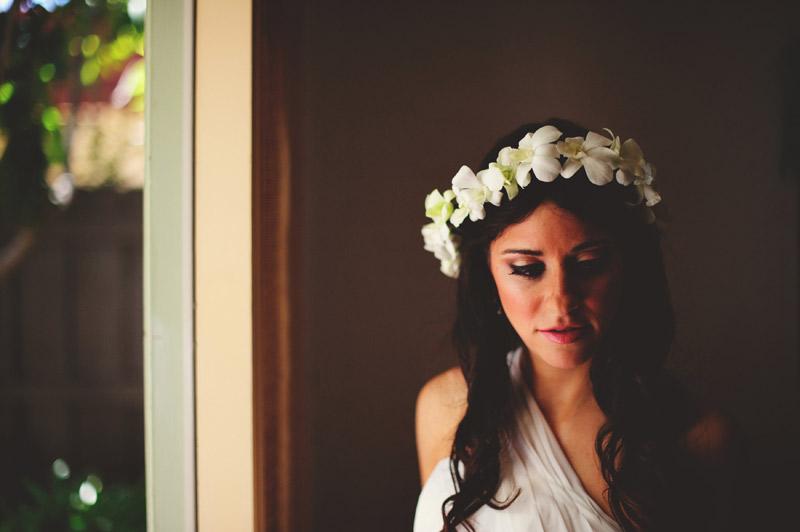 anna maria island wedding: bohemian bride