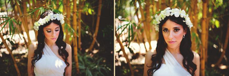 anna maria island wedding: bridal portraits