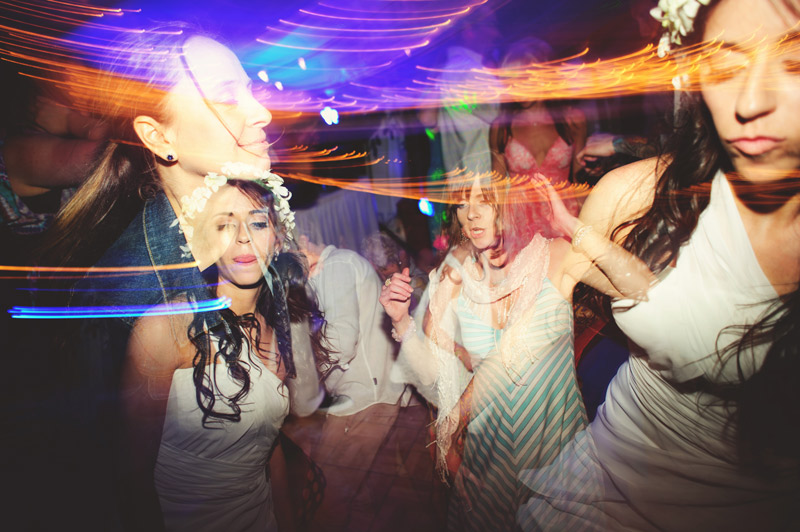 anna maria island wedding: bride fun dancing