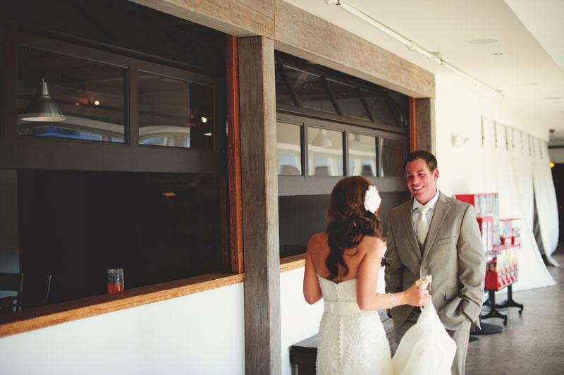 postcard inn holiday isles wedding: first look