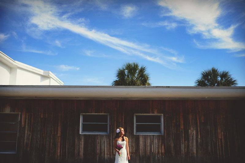 postcard inn holiday isles wedding: bride portraits