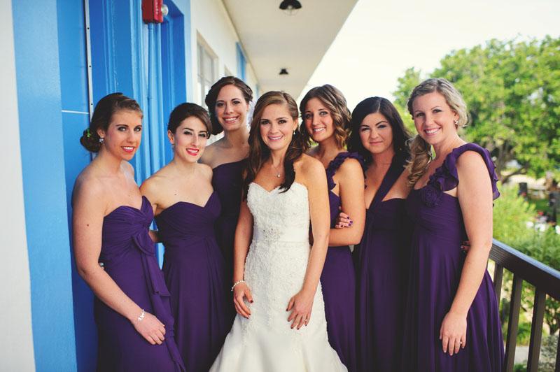 postcard inn holiday isles wedding: bridesmaids portraits