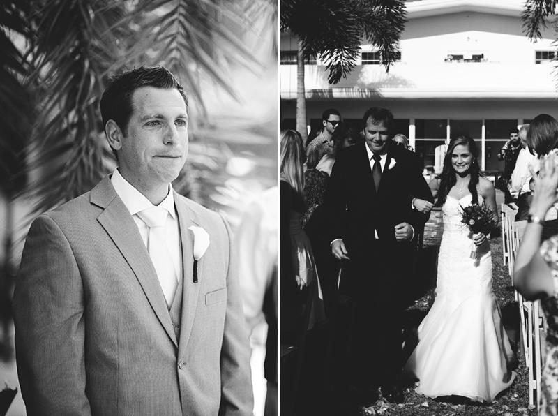postcard inn holiday isles wedding: groom crying