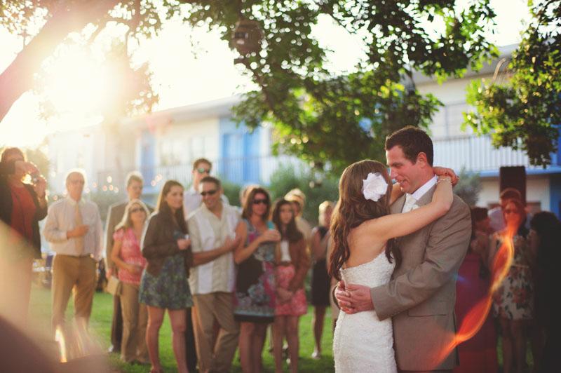 postcard inn holiday isles wedding: first dance