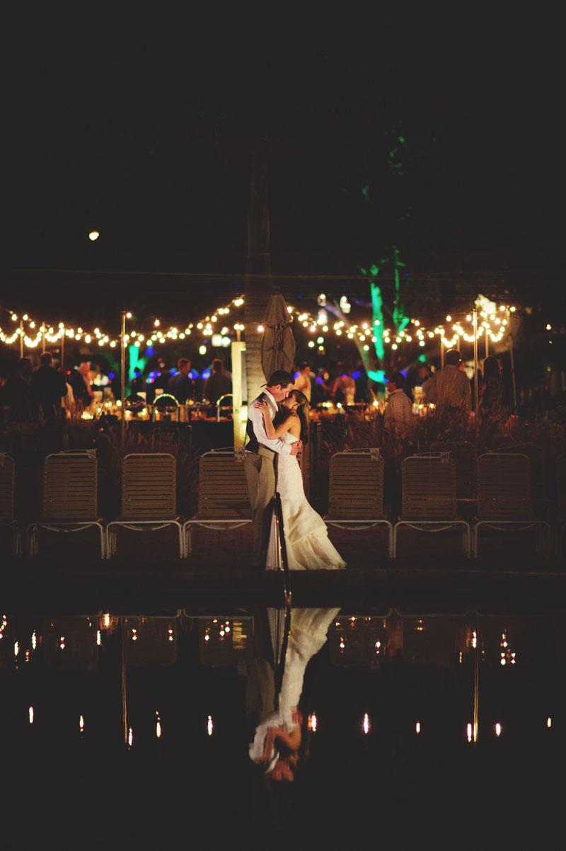 postcard inn holiday isles wedding: night portraits