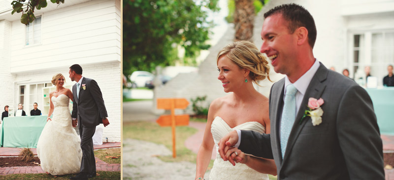 siesta key backyard wedding: introductions