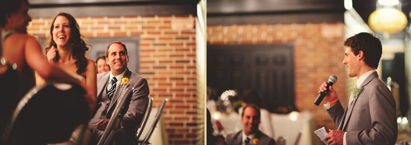 Winter Park Famers Market Wedding: toasts