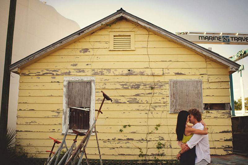 bradenton engagement session: romantic