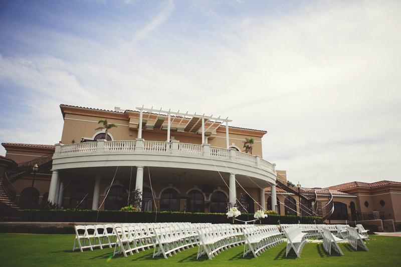lakewood ranch wedding: ceremony site