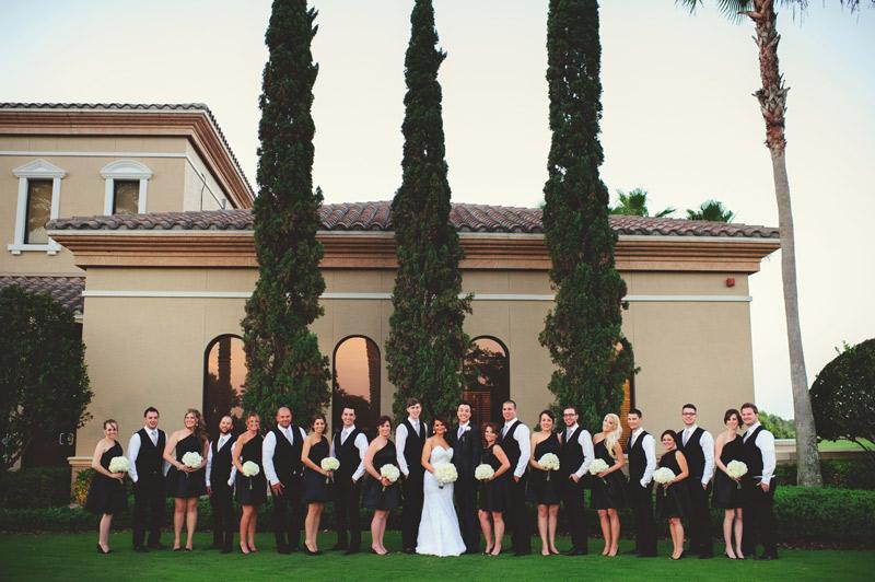 lakewood ranch wedding: bridal party