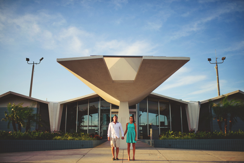romantic airport engagement session: tampa, fl