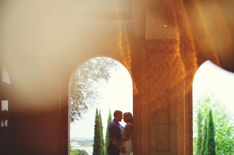 bella collina engagement session: artistic shot
