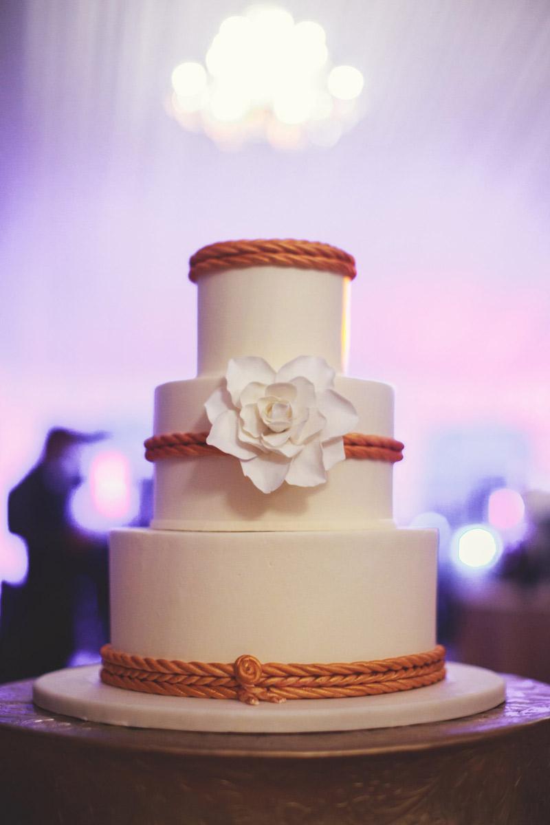 ringling museum wedding: nautical cake