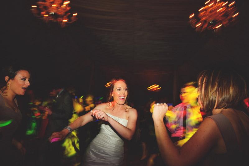ringling museum wedding: bride dancing