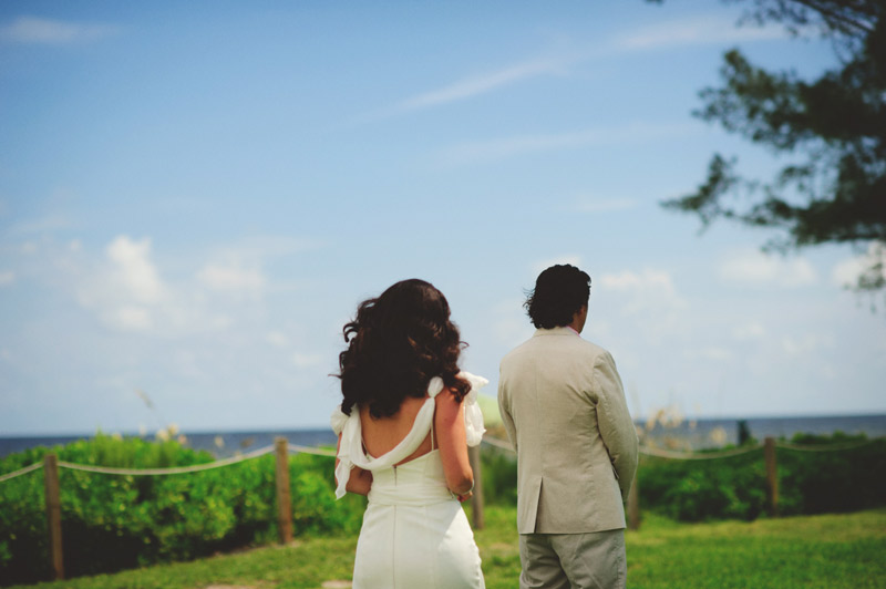sanibel island wedding: first look