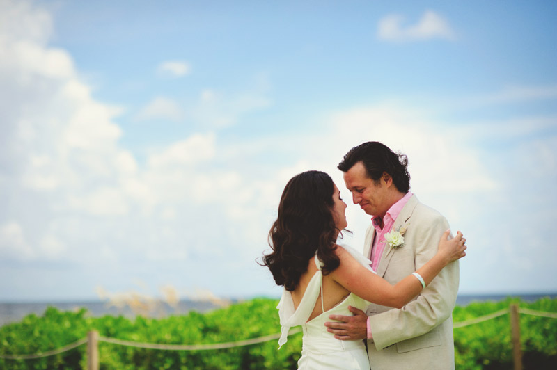 sanibel island wedding: emotional groom