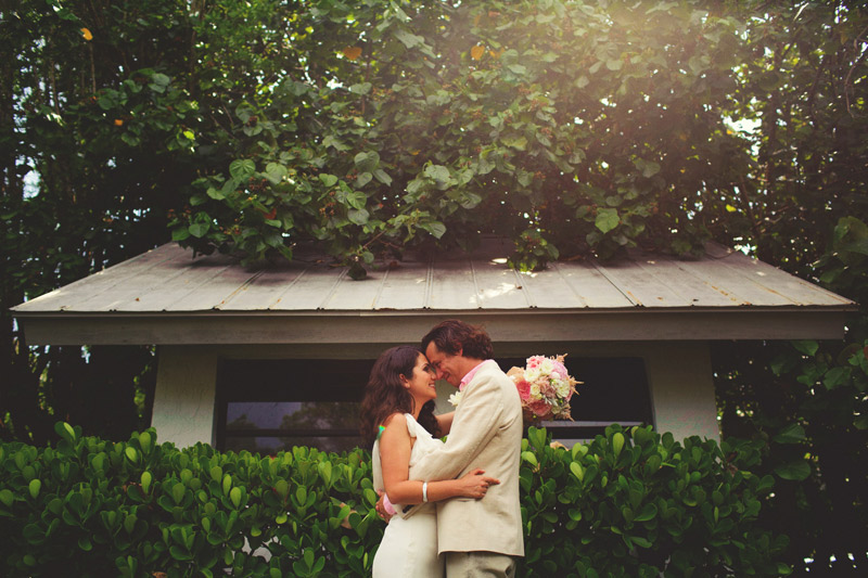 sanibel island wedding: bride and groom portraits
