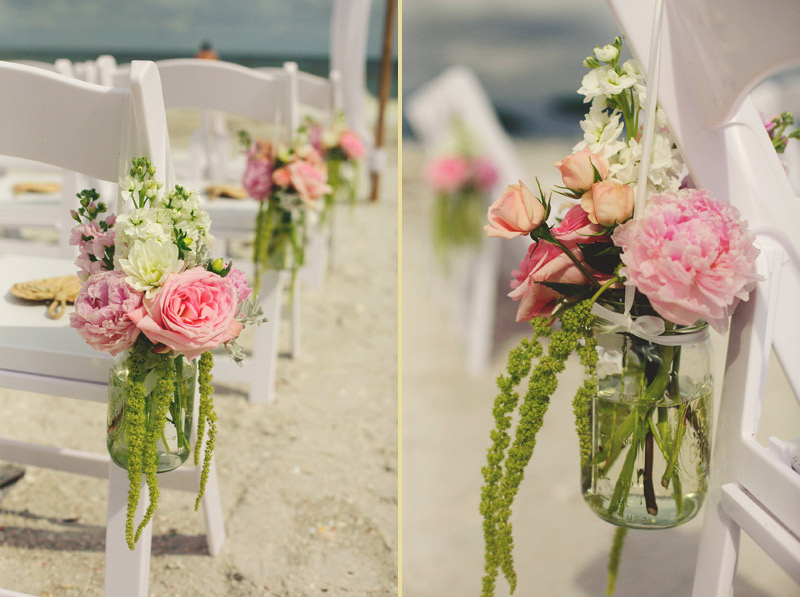 sanibel island wedding: ceremony details libbys flowers
