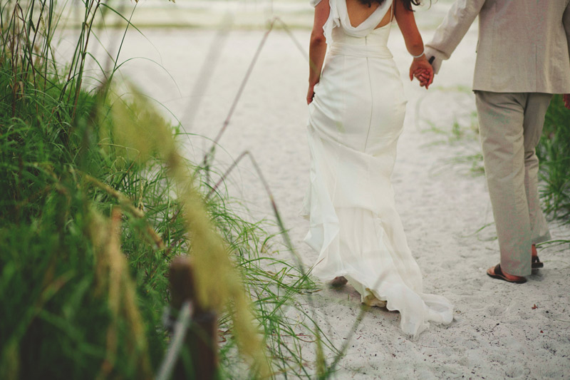 sanibel island wedding: evening portraits