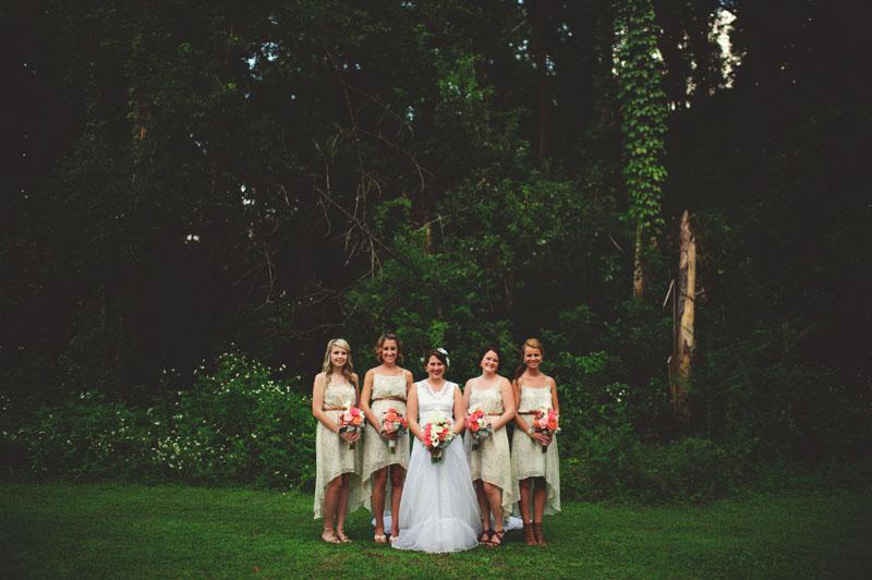 the glen venue wedding: bridesmaids