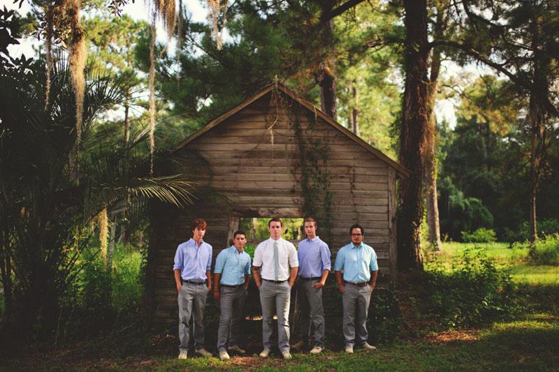 the glen venue wedding: groomsmen
