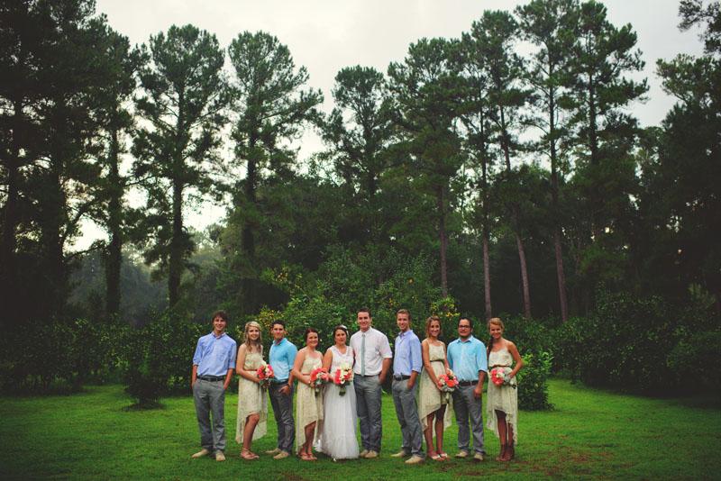 the glen venue wedding: bridal party