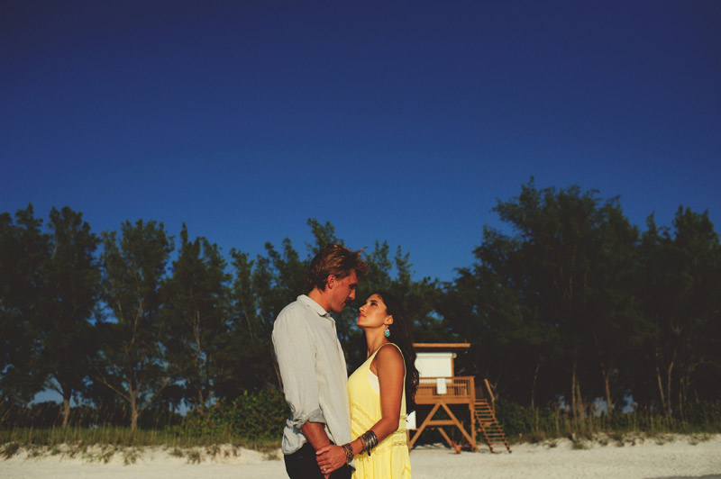 romantic driftwood beach engagement session: sexy