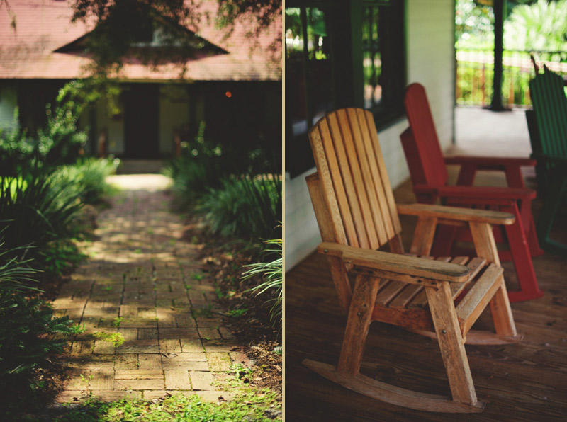 the glen venue wedding: rocking chair