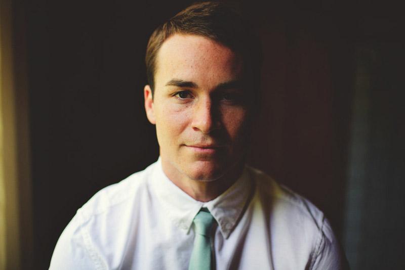 the glen venue wedding: groom portraits